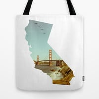 California Tote Bag by Gabriel Sul