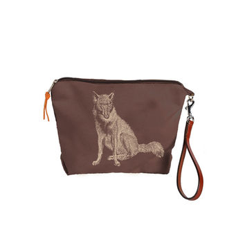 Burghley Pouch with Fox Design
