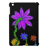 Flower Drawing iPad Mini Case