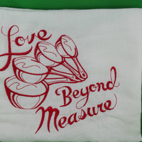Embroidered Love Beyond measure