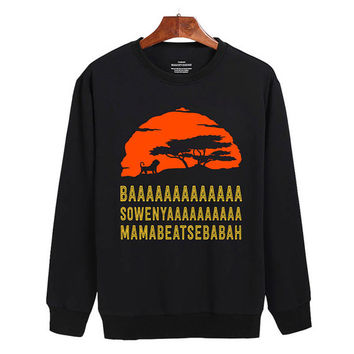 The Lion King Sweater sweatshirt unisex adults size S-2XL