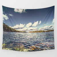 End of the road Wall Tapestry by HappyMelvin