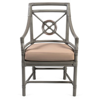 One Kings Lane - Beauty Through & Through - Rattan Target Armchair