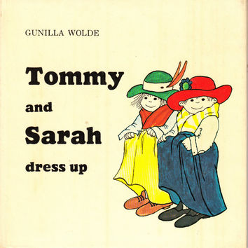 Tommy and Sarah dress up