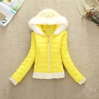 New Fashion Autumn Winter Women Warm Coat Ladies Cotton Long Sleeve Slim Solid Casual Hoodie Jacket Outwear Baseball Clothes