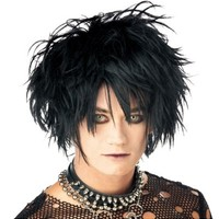 Midnight Fiend Wig- Party City