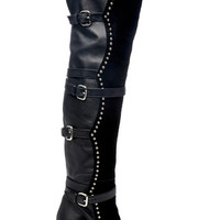 Metal Dot Over The Knee Boot | Moda Operandi