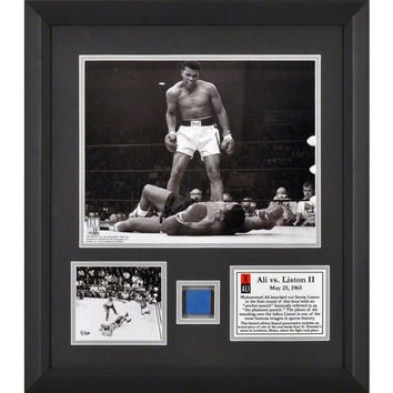 Muhammad Ali Limited-Edition Framed Photo and Seat Piece