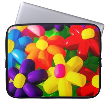 Toy Balloon Flowers Laptop Sleeve