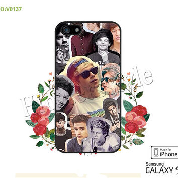 1D Phone Cases, iPhone 5/5S Case, iPhone 5C Case, iPhone 4/4S Case, one direction Galaxy S3 S4 S5 Note 2 Note 3 Case for iPhone-B0137