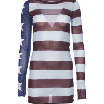 American Flag Knit Sweater - Marc Jacobs