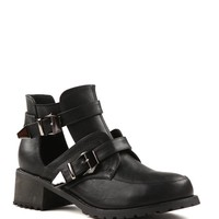 Miley cut out boot