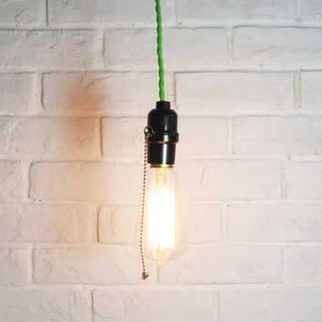 Edison Bulb Pendant Light - E27 Squirrel-Cage Filament Bulb - DIY lamp set - ceiling lamp - edison bulb-110V & 220V - vintage style