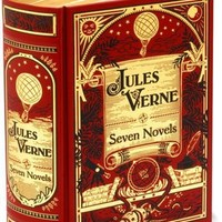 Jules Verne: Seven Novels (Barnes & Noble Leatherbound Classics)