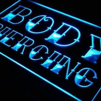 Body Piercing Neon Sign (LED)