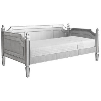 Hayworth Silver Daybed