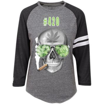 #420 Weed Heathered Vintage Shirt