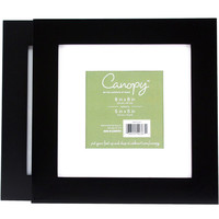 Walmart: Canopy Flat Gallery 8x8 Matted Picture Frames, Set of 2