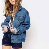 Reclaimed Vintage | Reclaimed Vintage Midwash Denim Jacket at ASOS