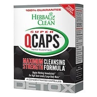 HERBAL CLEAN®  QCaps Max Strength Cleansing Formula