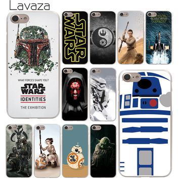Lavaza YODA  star wars and bb8 Hard Phone Cover Case for Apple iPhone 10 X 8 7 6 6s Plus 5 5S SE 5C 4 4S Coque Shell