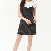 Pinstriped Cami Dress