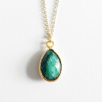 Framed Emerald Drop Mother's Day Exclusive