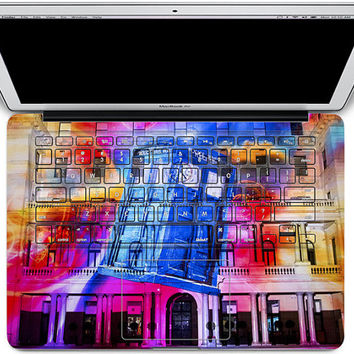macbook keyboard decal mac pro decals keyboard decal cover skin keyboard decal laptop sticker rainbow mac decals Apple Mac Decal