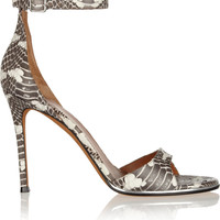 Givenchy - Snake sandals