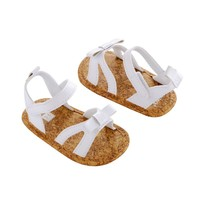 Carter's Bow Sandals - Baby Girl (White)