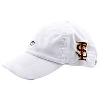 Florida State University Mini Skipjack Hat in White by Southern Tide