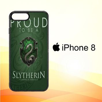 Proud To Be Slytherin F0574 iPhone 8 Case