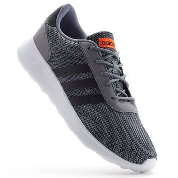 adidas Lite Racer Men's Athletic Shoes (Grey)