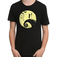 The Nightmare Before Christmas Romance Moon T-Shirt