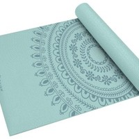 Gaiam Marrakesh Print Premium Yoga Mat (5mm)
