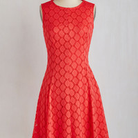 Sleeveless A-line Bridal Bash Dress by ModCloth