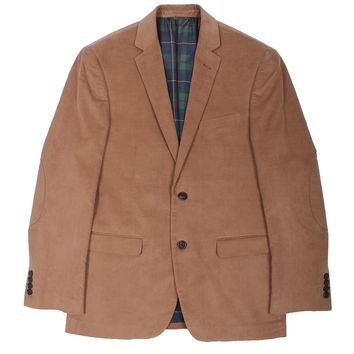 Corduroy Blazer in Brown by Country Club Prep - FINAL SALE