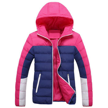 Trendsetter ADIDAS Women Casual Down Cotton Cardigan Jacket Coat