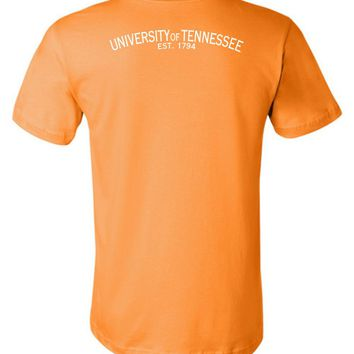 Official NCAA University of Tennessee Volunteers, Knoxville Vols UT UTK Women's 1794 Unisex T-Shirt - 35tn-1-b
