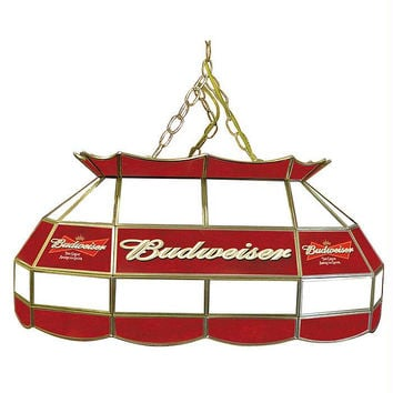 Budweiser 28 inch Stained Glass Pool Table Light Lamp