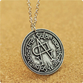 Song of Ice and Fire Game of Thrones coin faceless man necklaces & pendants fashion movie jewelry C4