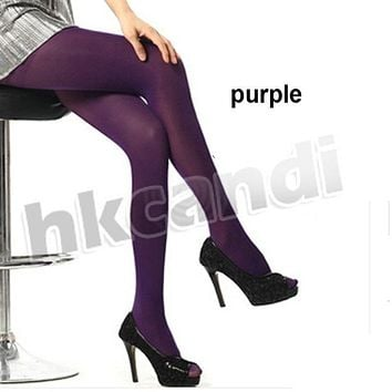 New Fashion Girls Women Stretch Tights Footed Stockings Pantyhose Tights Silk stockings Seamless Pantyhose Girls Sexy BA006