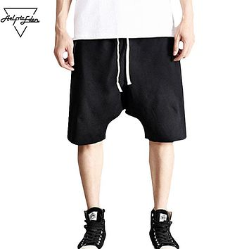 Summer Men Board Shorts Hip Hop Short Sweatpants Joggers Man Shorts