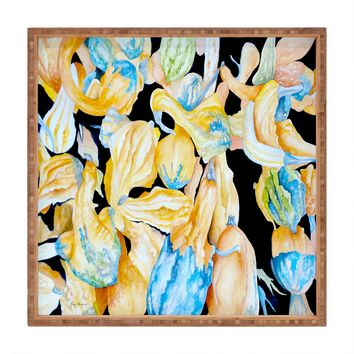 Rosie Brown Gourds Galore Square Tray
