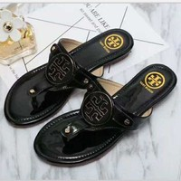 Tory Burch New Fashion Ladies Slippers Casual Women Sandal Slipper Shoes
