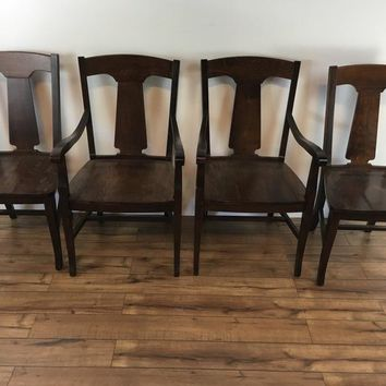 Set of Four Pottery Barn Dining Chairs
