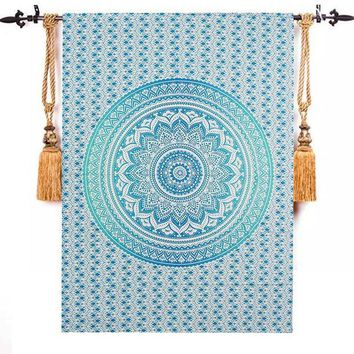 ESBU3C Top Selling Bohemia Indian Mandala Tapestry Wall Hanging Tapestries Boho Bedspread Beach Towel Yoga Mat Blanket Table Cloth