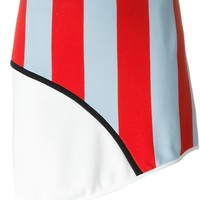 Iceberg Striped Asymmetric Skirt - Dope Factory - Farfetch.com