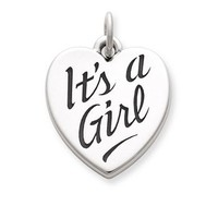 """""""It's a Girl"""" Charm 