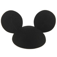 Black Mouse Party Hat